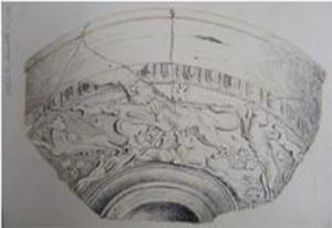 pottery half grey